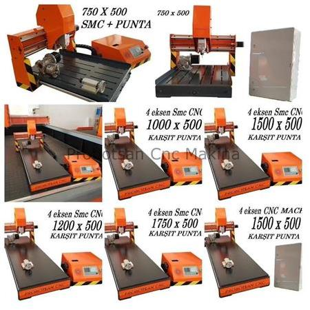 3 Eksen Mini Cnc Router